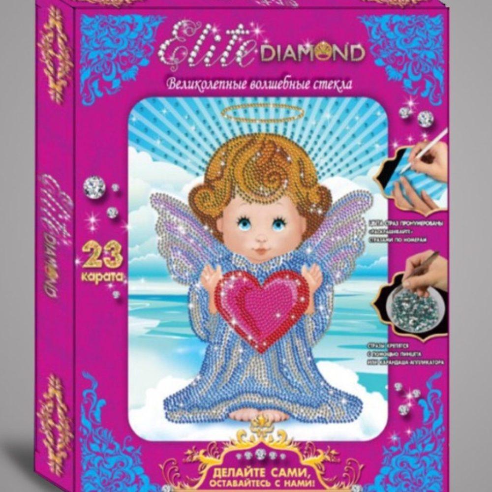 Алмазная мозаика Elite Diamond ангелочек