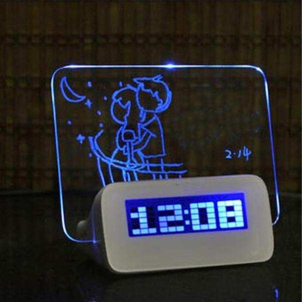 LED Будильник 4