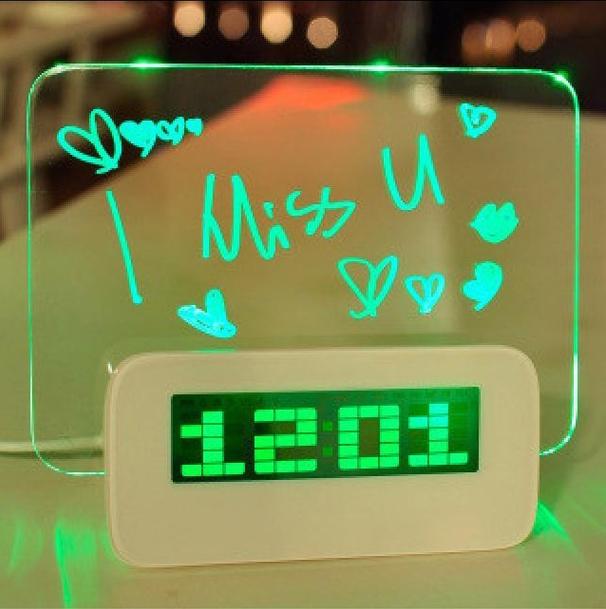 LED будильник3